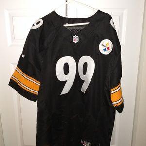Brett Keisel Pittsburgh Steelers Jersey Authentic